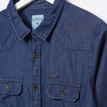 Lee Cooper Long Sleeves Denim Shirt