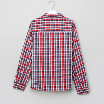 Lee Cooper Chequered Long Sleeves Shirt