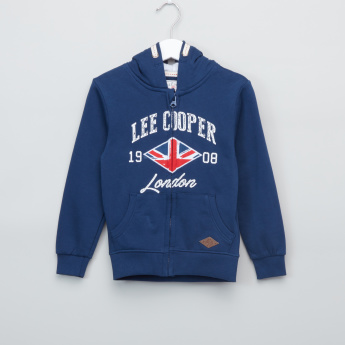 Lee Cooper Printed Long Sleeves Jacket