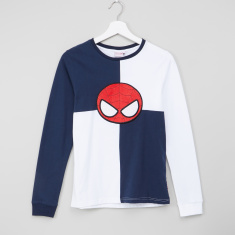 Spider-Man Round Neck Long Sleeves T-Shirt
