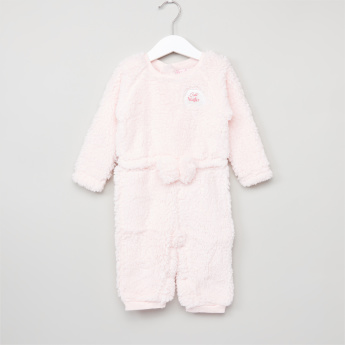 9fe45948618 Juniors Plush Long Sleeves Romper
