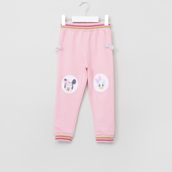 Minnie Mouse and Daisy Duck Printed Jog Pants