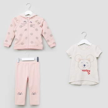 b763160746cb Juniors 3-Piece Clothing Set | Pink | Casual