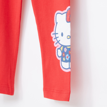 0209153cf97bf Hello Kitty Printed Full Length Leggings with Elasticised Waistband ...