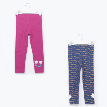 Hello Kitty Printed Leggings - Set of 2