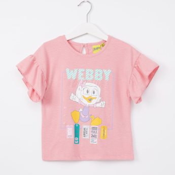 Duck Tales Printed Top