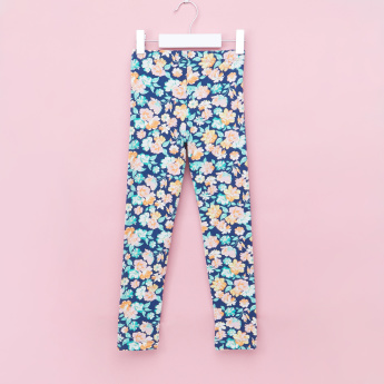 Juniors Printed Full Length Leggings with Elasticised Waistband