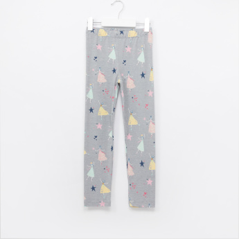 Juniors Printed Leggings - Set of 2