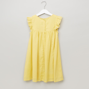 Juniors Round Neck Dress