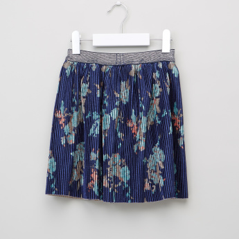 Juniors Embellished Top with Skirt