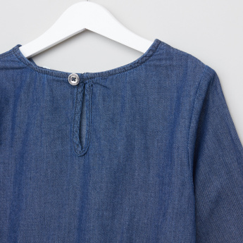 Lee Cooper Denim Tunic with Sequin Pocket