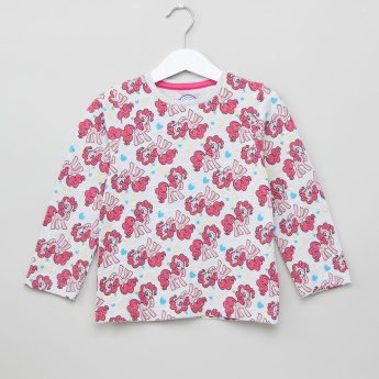 My Little Pony Printed Long Sleeves T-Shirt and Pyjamas - Set of 2