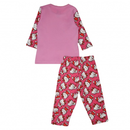Hello Kitty Printed Pyjama Set