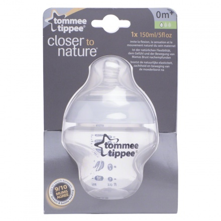 Tommee Tippee Closer to Nature Feeding Bottle - 150 ml