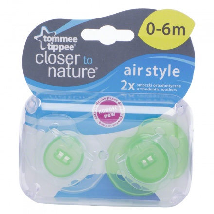 Tommee Tippee Air Soother - Pack of 2