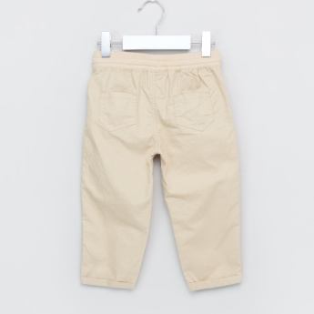 Juniors Pocket Detail Pants with Drawstring