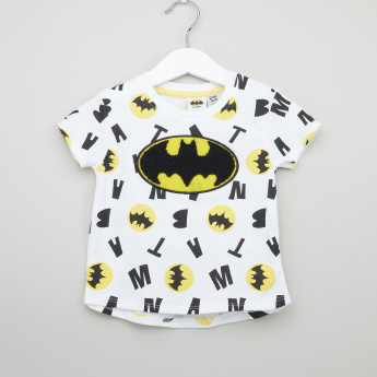 Warner Bros Batman Graphic Printed T-shirt - Set of 2