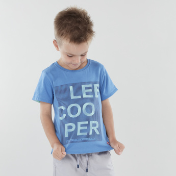 Lee Cooper Printed Short Sleeves T-shirt