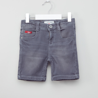 Lee Cooper Pocket Detail Denim Shorts