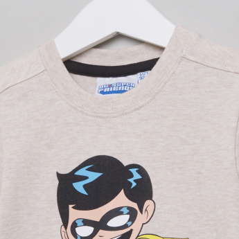 DC Super Friends Printed Short Sleeves T-Shirt