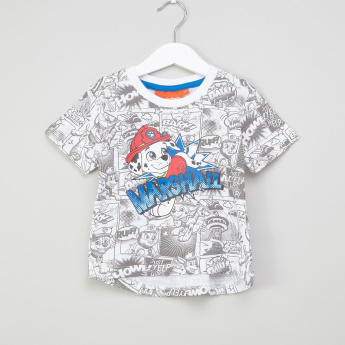 PAW Patrol Printed T-Shirt with Shorts