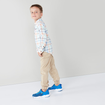 Juniors Full Length Pants with Pocket Detail
