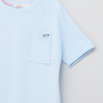 Eligo Pocket Detail Short Sleeves T-Shirt
