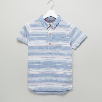 Eligo Striped Short Sleeves Shirt