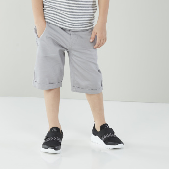 Eligo Striped T-shirt with Pocket Detail Shorts