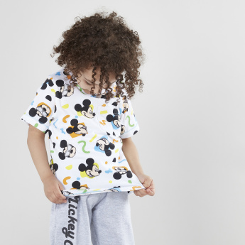 Mickey Mouse Printed Short Sleeves T-Shirt