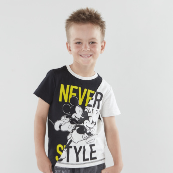 Mickey Mouse Graphic Printed T-shirt