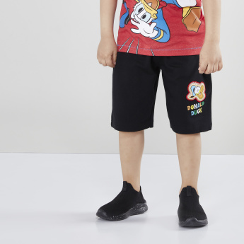 Donald Duck Printed Shorts