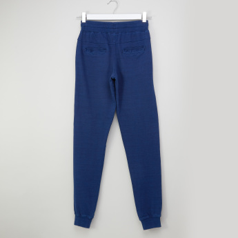 Posh Pocket Detail Jog Pants with Drawstring