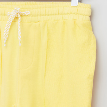 Posh Pocket Detail Shorts with Drawstring