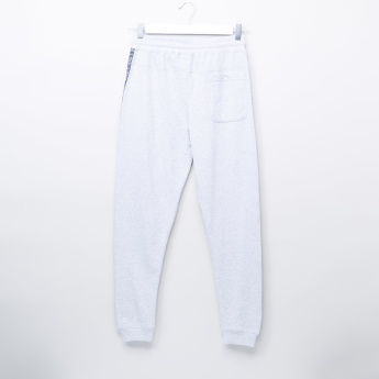 Posh Clothing Knit Joggers with Tape Detail