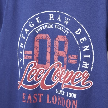 Lee Cooper Graphic Printed Short Sleeves T-shirt