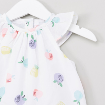 Juniors Fruit Printed Romper
