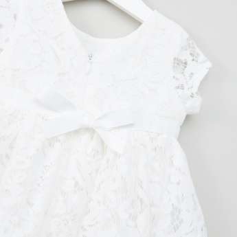 Juniors Lace Detail Dress