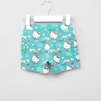 Sanrio Graphic Printed 2-Piece T-shirts and Short Set
