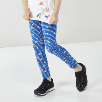 Juniors 2-Piece Printed Leggings with Elasticated Waistband
