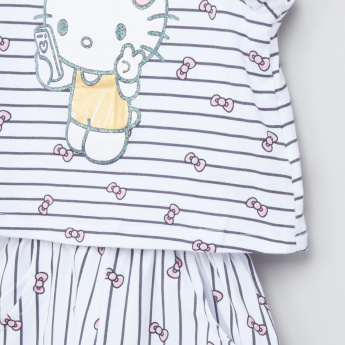 Hello Kitty Printed Jumpsuit