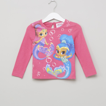 Shimmer and Shine Printed Long Sleeves T-Shirt