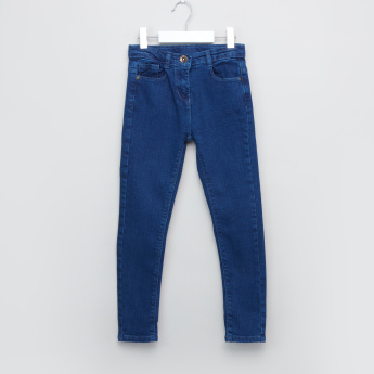 Juniors Pocket Detail Denim Pants