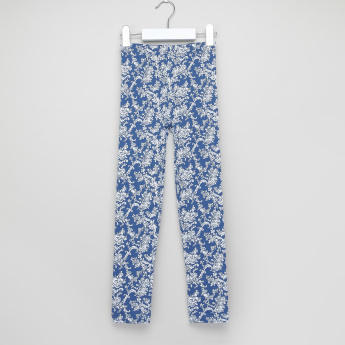 Juniors Printed Leggings with Elasticised Waistband