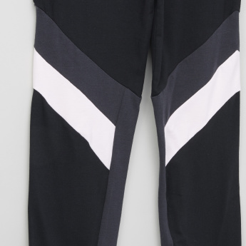 Posh Striped Leggings with Elasticised Waistband