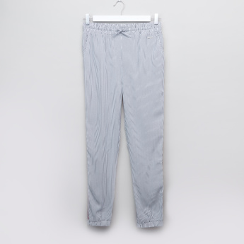 Lee Cooper Pinstriped Jog Pants