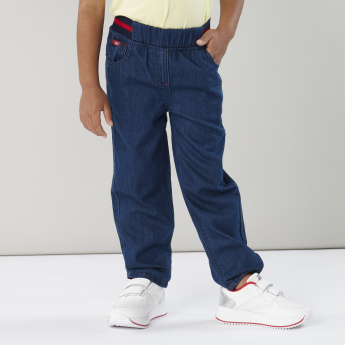 Lee Cooper Denim Pants with Elasticated Waistband