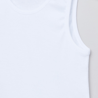 Juniors Sleeveless Vest with Shorts