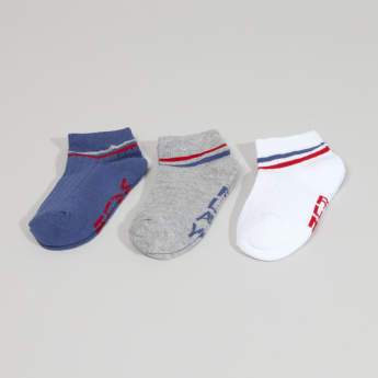 Juniors Printed Ankle Length Socks - Set of 3
