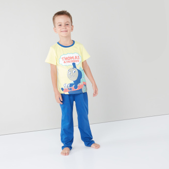 Thomas & Friends Printed T-shirt and Pyjama Set